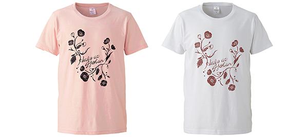 花 T-シャツ