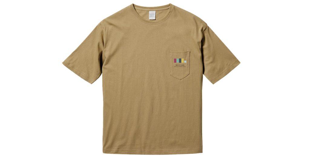 イノセント・プレイヤーズビックシルエットポケットTシャツ